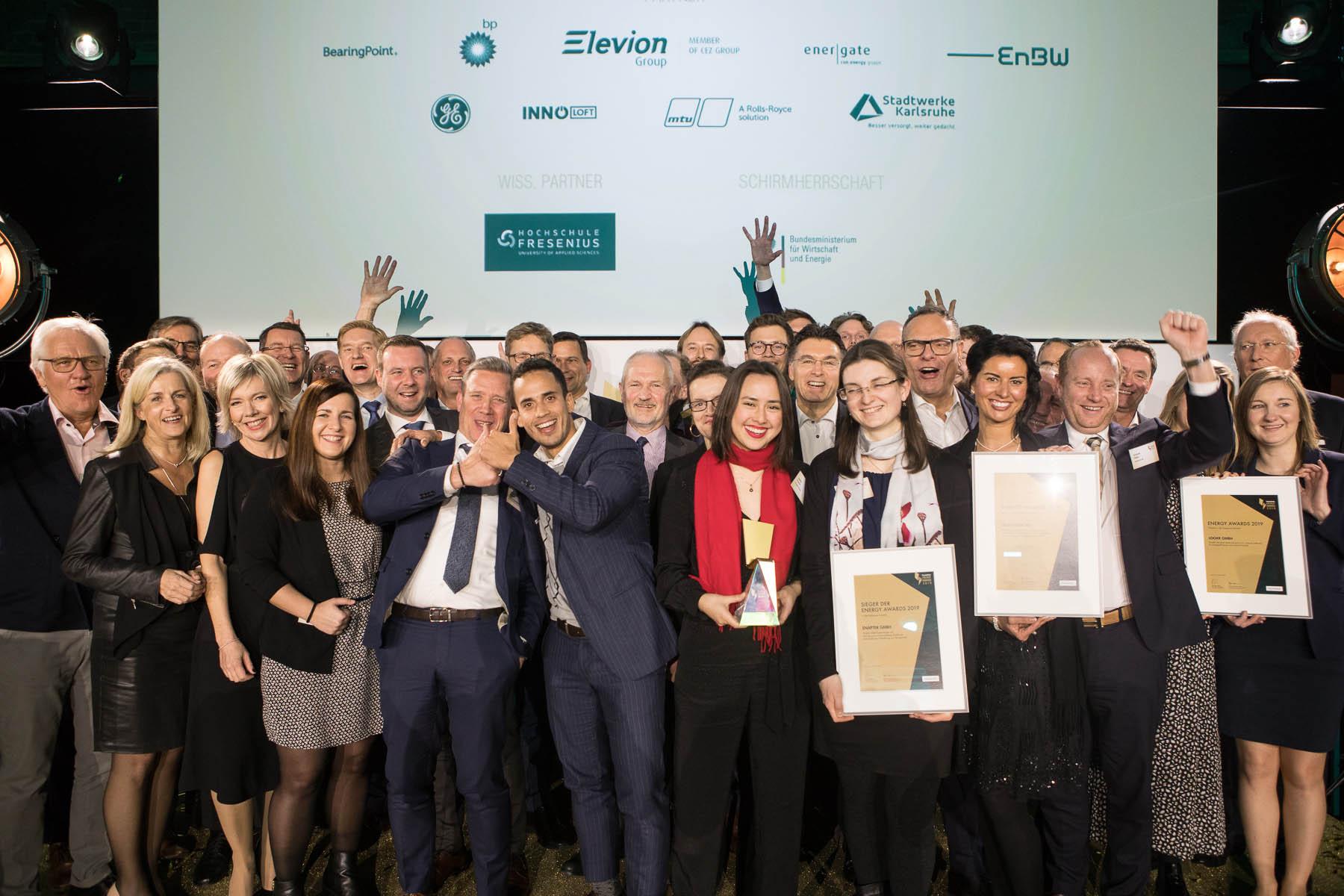 Handelsblatt Energy Award 2019 am 20. Janaur 2020 in der Classic