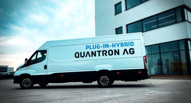 Der neue Q-Light Hybrid Kastenwagen von QUANTRON