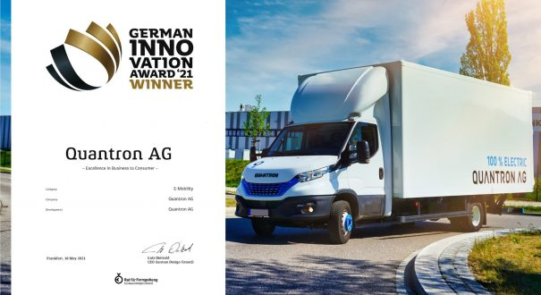 Quantron AG - German Innovation Award Winner 2021, Category E-Mobility