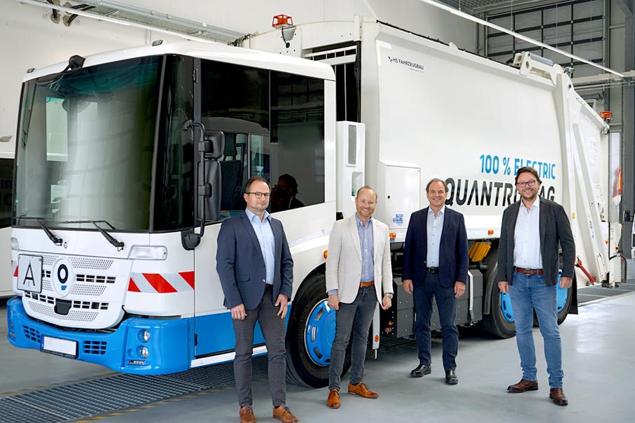 Quantron AG schließt Partnerschaft mit H2Go GmbH